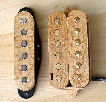 STRAT - SINGLE & HB /WOOD COVER