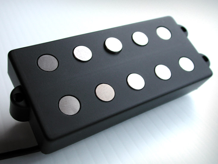 MM5.3 Model / humbucking (triple coil) 5 string MM-type bass pickups