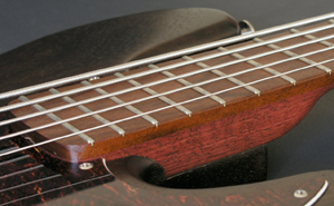 Purpleheart Neck / Ipê Fingerboard