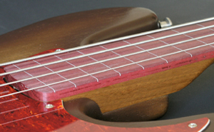 Ipê Neck / Purpleheart Fingerboard