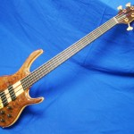 #268 BSR5TNF-CM (Black Tiger Fretless)