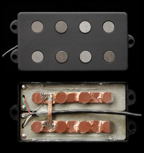 MM4.2 Model / humbucking (dual coil) 4 string MM-type bass pickups