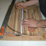 Cutting body shape using overhead auto-router