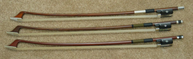 Double Bass Bows from Ken Smith