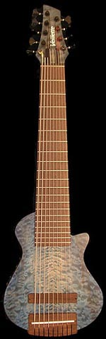 Brad Caudle's MK-IV Acoustic/Electric 9-string bass