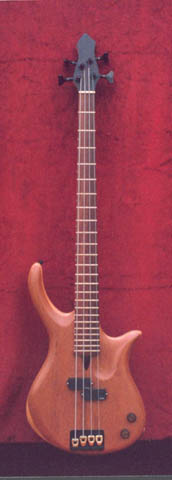 AESTHETICAL 4 (Semi-hollow Electric 4 String Bass)
