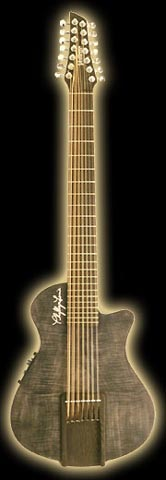 Lynne Gordon's 14-string guitar